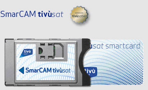 TivuSat Official Italian Digital TV CAM and Card